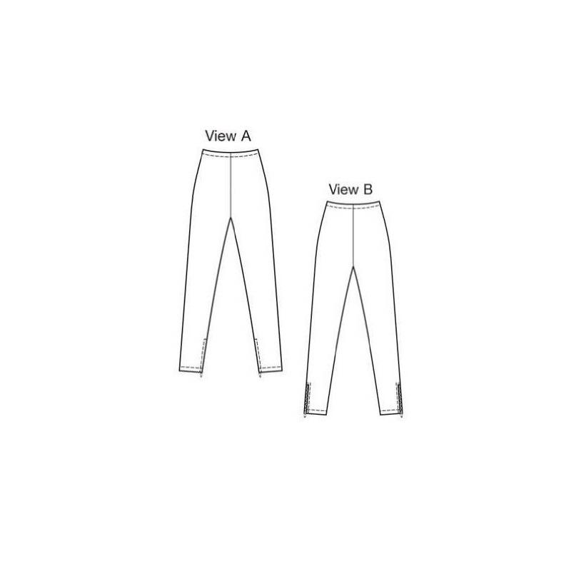 Patrón De Costura De Los Pantalones Kwik Sew K3807, Talla Xs ...