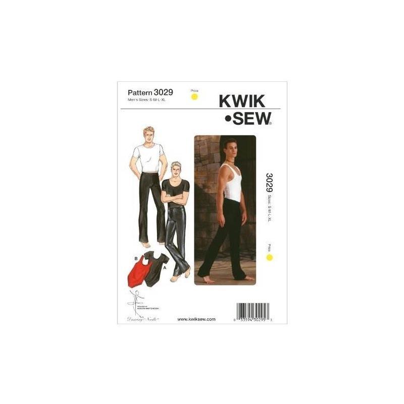 Patrón De Costura Kwik Sew K3029 Dance Wear, Talla S-m-l-xl ...