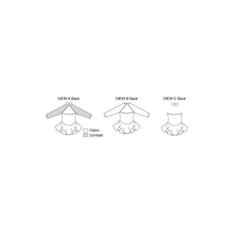 Patrón De Costura Kwik Sew K3272 Leotardos, Talla Xs-s-m-l-x ...