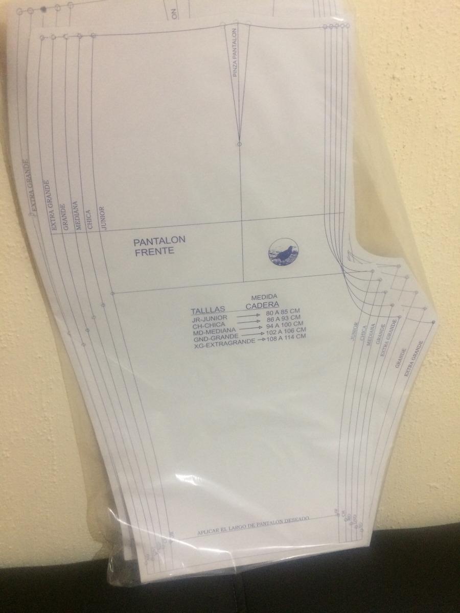 Patrón De Costura Para Pantalón De Dama - $ 60.00 en Mercado Libre