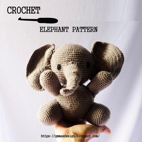 Elefante Amigurumi - YouTube | 500x500