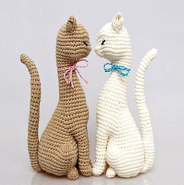 Patron Gata Amigurumi Para Tejer En Crochet - $ 100,00 en Mercado Libre