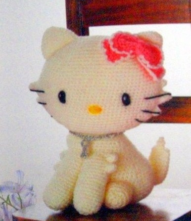 patron gata kitty amigurumi crochet español + regalo!