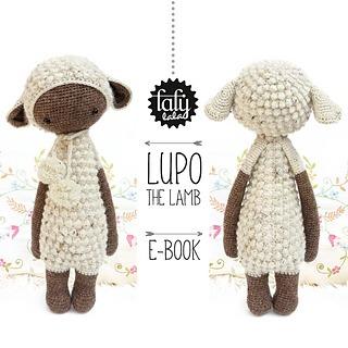 patron lalylala - oveja lupo - amigurumis - crochet español