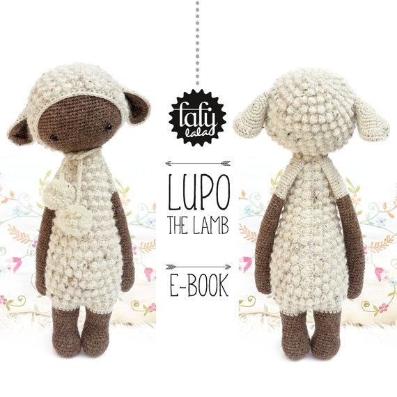 Patron Lalylala Oveja Lupo - Amigurumis - Crochet Español - $ 2.000 ...