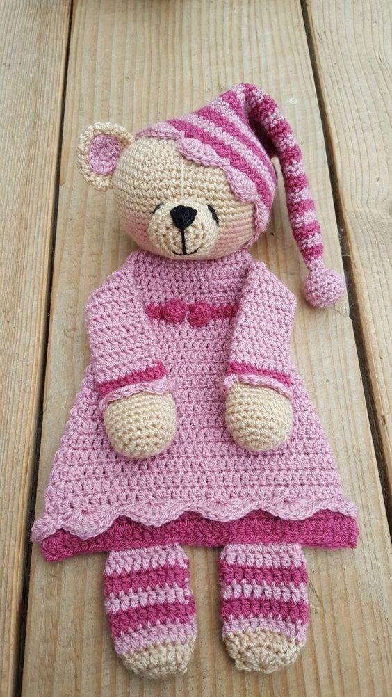 Patron Manta Apego Ositoc/pijama Amigurumis Crochet-esp+1reg - $ 50 ...