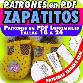 Molde Pdf Tamaño Real Niños Sandalias Zapatitos Bebés Patrón 8PkwOn0