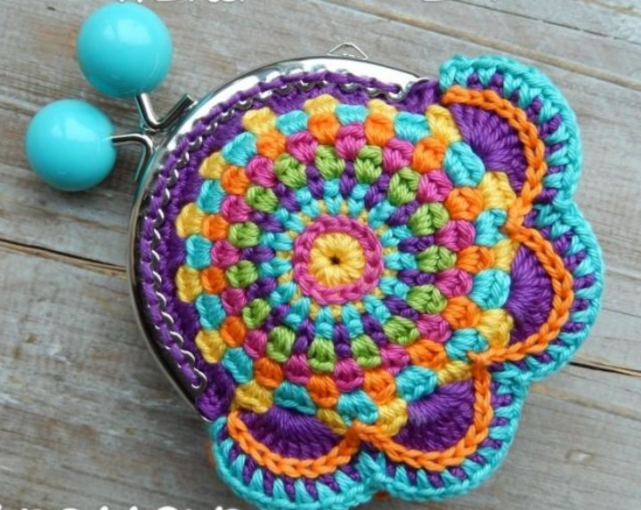Patrón Monedero A Crochet Pdf - $ 3.000 en Mercado Libre
