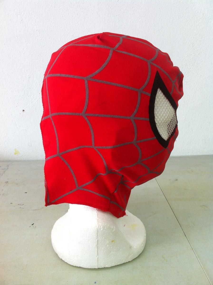 1dab37c34 Patron Para Confeccionar Mascara De Spiderman, Facil De Usar ...