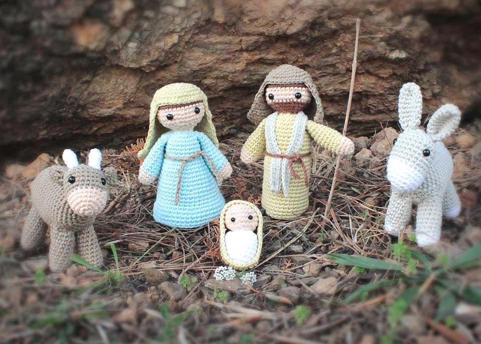 Patron Para Hacer Pesebre Navidad Crochet Español + Regalo - $ 35,00 ...