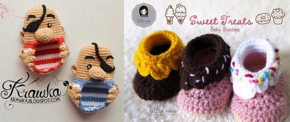 Patrón Para Tejer Botitas Botas Zapatitos Crochet + Regalo! - $ 40 ...