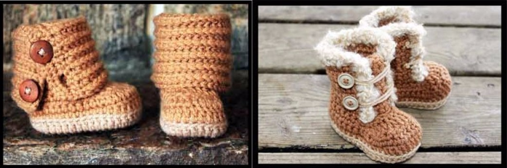 Perfecto Botas Patrón De Crochet Friso - Ideas de Patrones de ...
