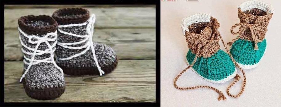 Lujoso Los Patrones De Crochet Libre Para Botas Festooning - Ideas ...