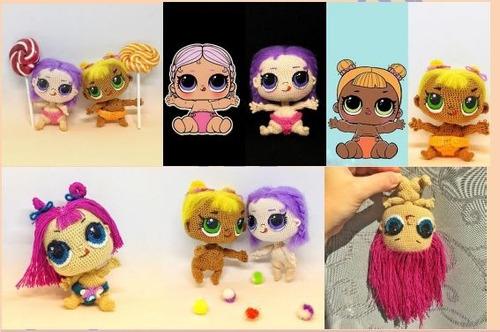 patrón para tejer muñecos crochet amigurumis + regalo!