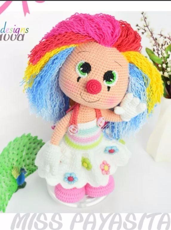 Patrón Para Tejer Muñecos Crochet Amigurumis + Regalo! - $ 40,00 en ...