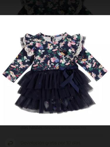 patrón vestido bebe