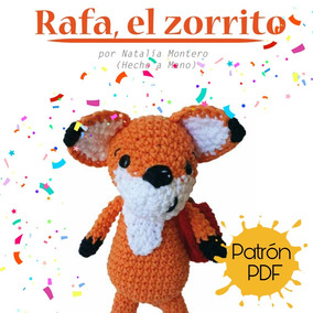 cosicasraquel: Broche Zorrito de Crochet | 284x284