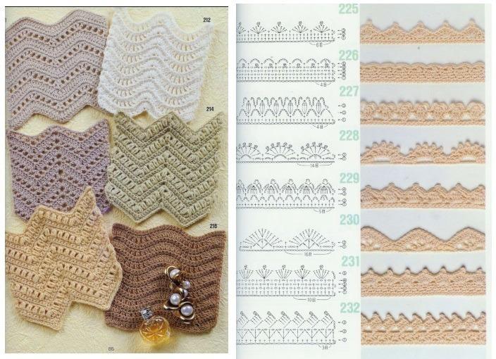 Patrones 262 Puntos Y Diagramas De Crochet +1 Reg. - $ 50,00 en ...