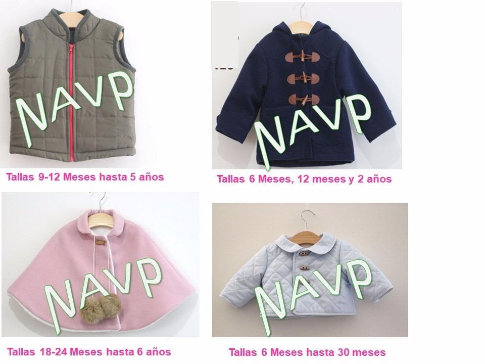 Patrones Abrigo Chaleco Sueter Niños Y Niñas Bebe Sweater - $ 40,00 ...