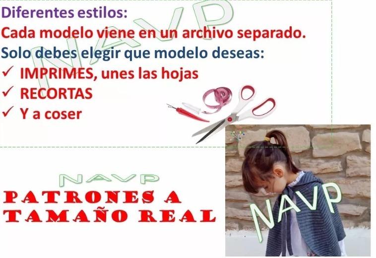 Patrones Abrigo Chaleco Sueter Niños Y Niñas Bebe Sweater - $ 1.400 ...