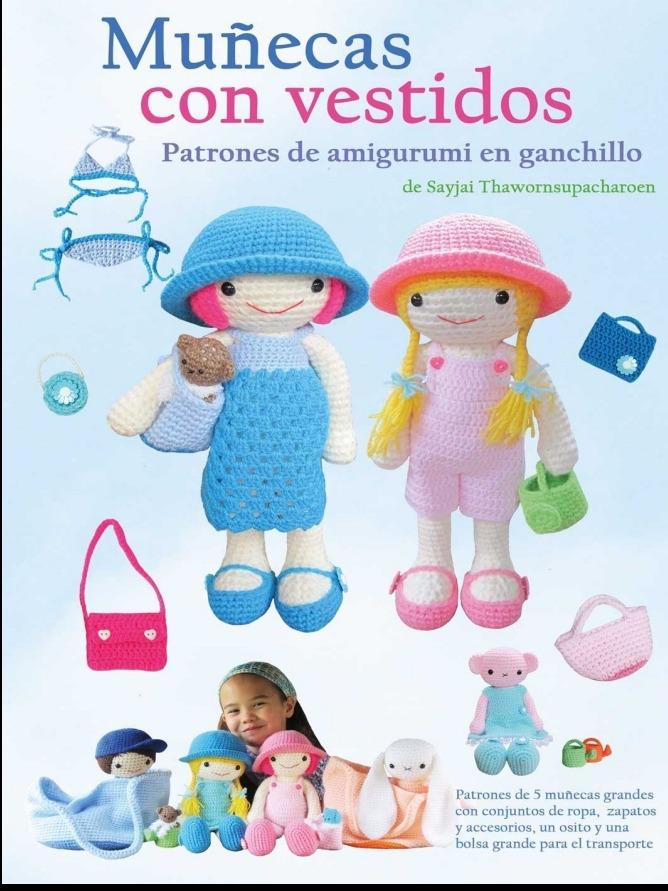 Patrones Amigurumis Muñecas Ropa Crochet En Español - $ 100,00 en ...