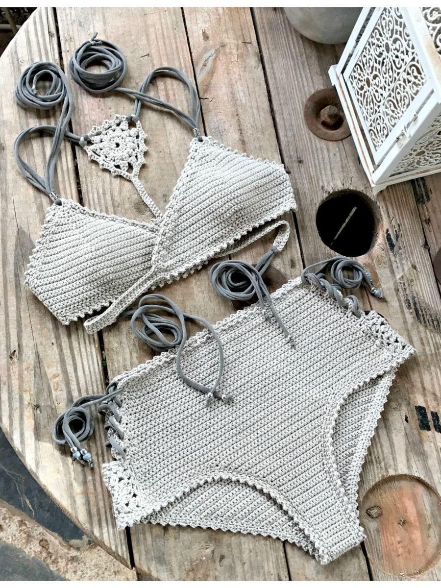 833afe422f69c patrones bikini crochet traje de baño ingles. Cargando zoom.