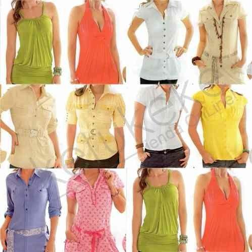 Para Blusas Damas 000 5 Costura Moldes Vestidos Patrones Camisas qZwd11t