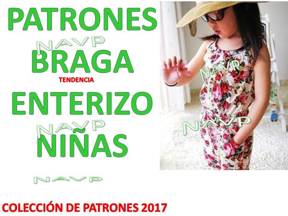 Patrones Braga Enterizo O Mono Para Niñas Bebe - $ 3.000 en Mercado ...