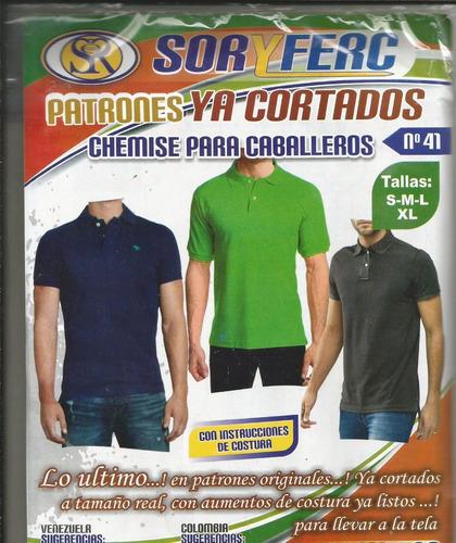patrones chemise para caballeros