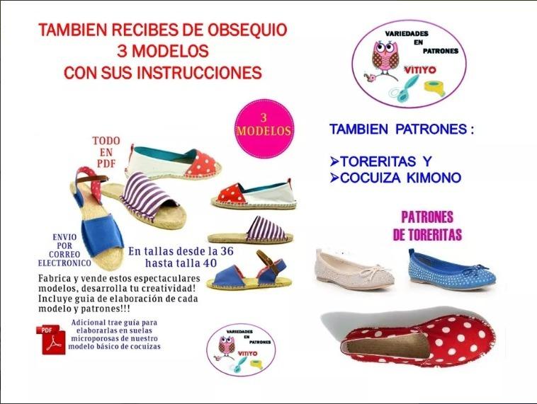 Patrones Cocuizas Damas-niñas Sin Máquina De Coser - S/ 3,50 en ...