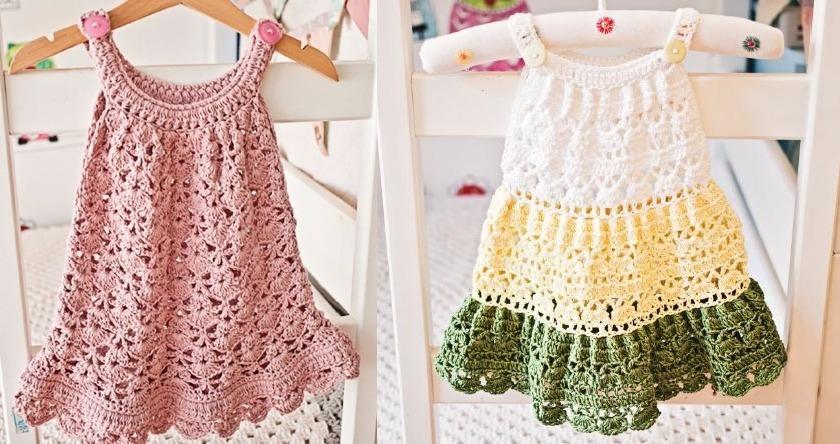 Patrónes Crochet Ing Vestiditos Saquitos Vestidos + Regalo! - $ 40 ...