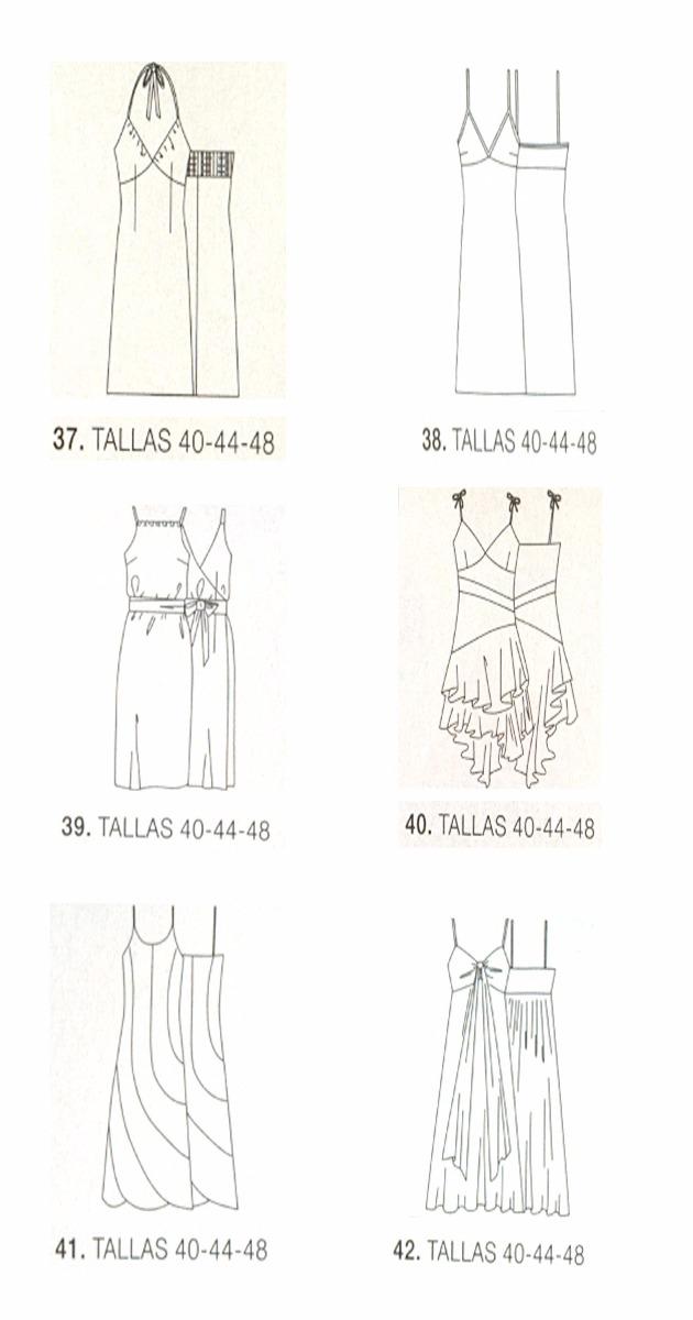 Patrones De Costura Para Vestidos - Bs. 100,00 en Mercado Libre