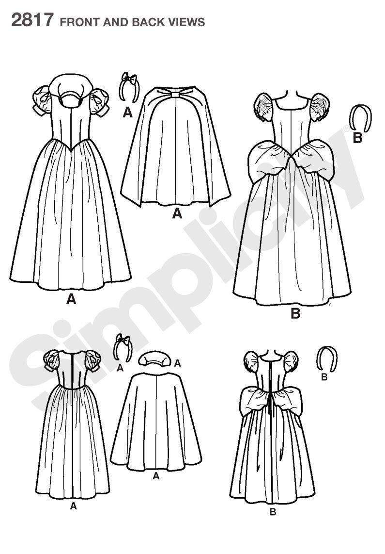 Patrones De Costurapatrones De Costura De Simplicidad 28 ...