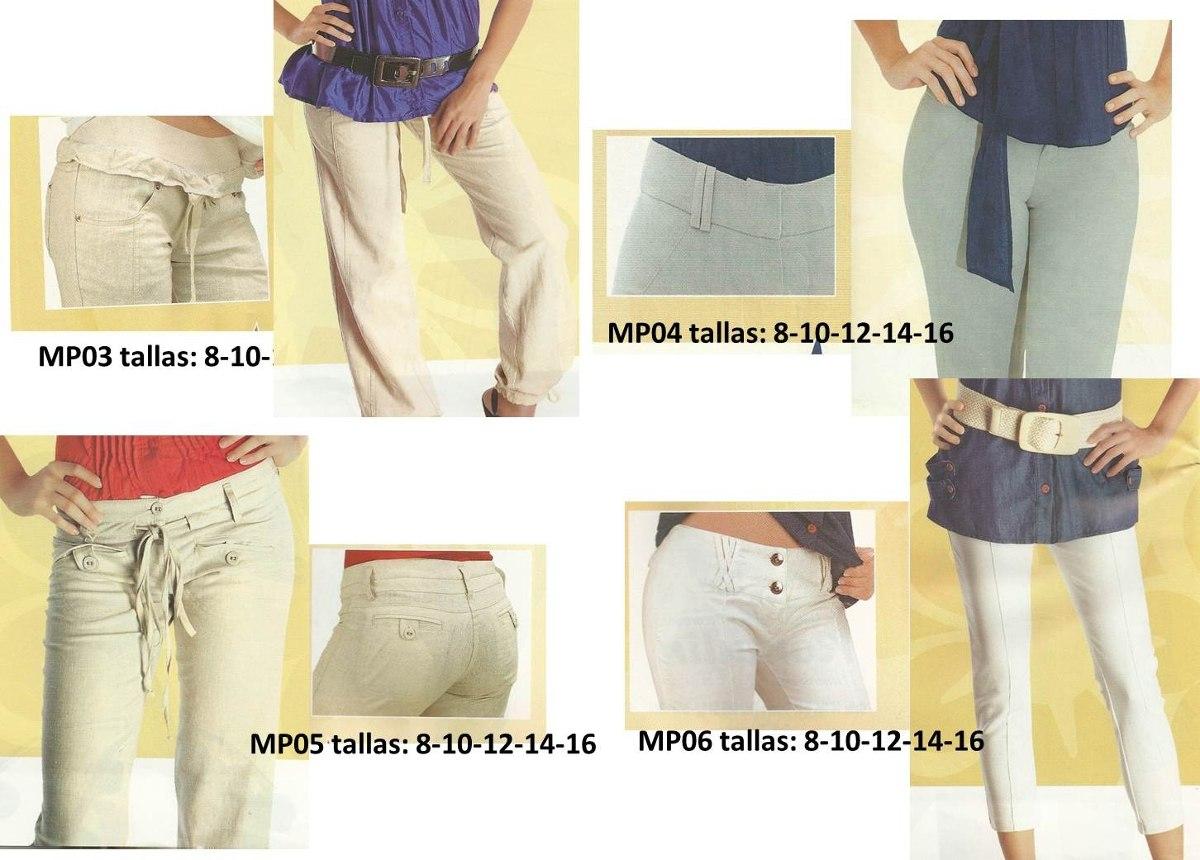 Patrones De Costuras Para Pantalones De Damas - Bs. 100,00 en ...