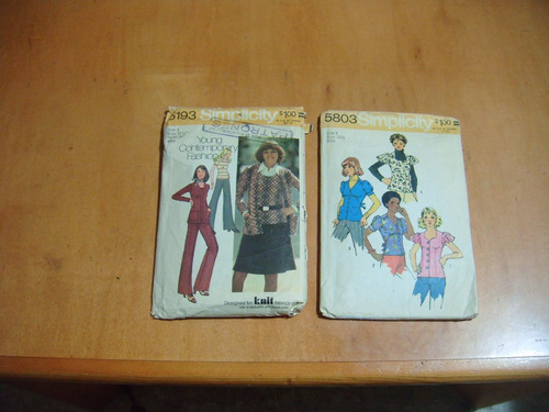 patrones de ropa de los 70s para damas