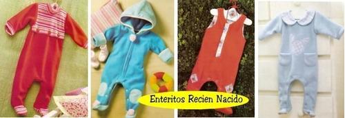 patrones de ropa y accesorios de bebe imprimibles