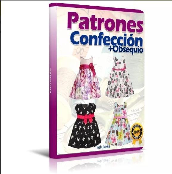Patrones De Vestidos Para Niñas Todas Las Tallas Moldes Bebe - S/ 5 ...