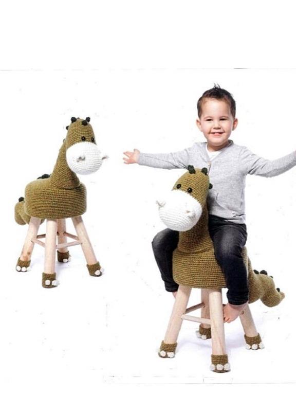 Patrones En Ingles Amigurumis Banquetas Animales Crochet - $ 100,00 ...