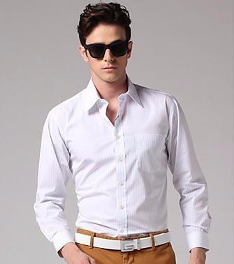 patrones imprimibles de camisa de vestir fina caballero