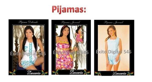patrones lencería cacheteros pantys sostén hilo tanga pijama