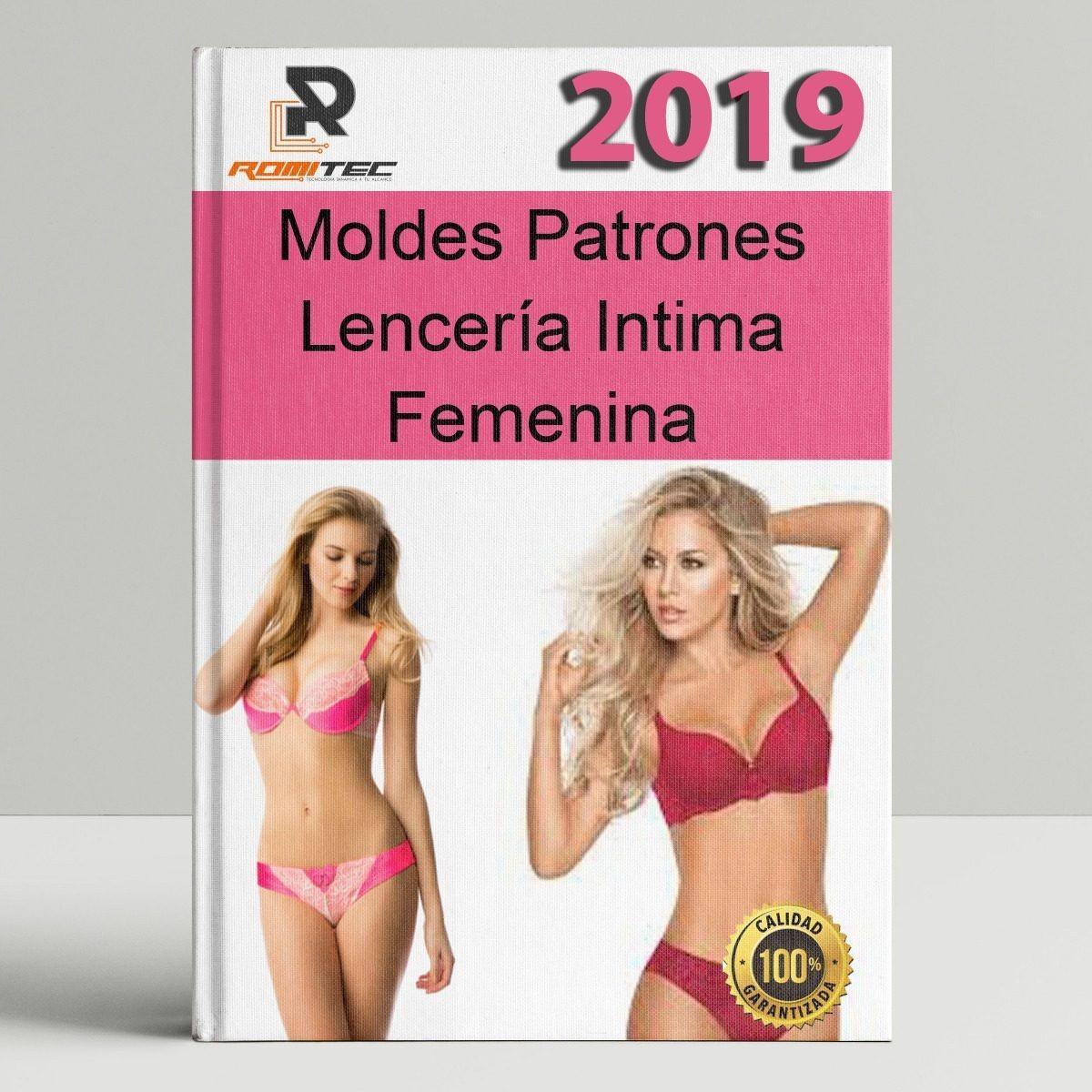 Patrones Lencería Intima Femenina Sostén Pantis Entre Otros - Bs ... 8e90416a9e7f