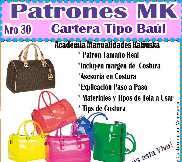 Patrones Mk. Patrones En Físico. Cursos De Costura - Bs. 350,00 en ...