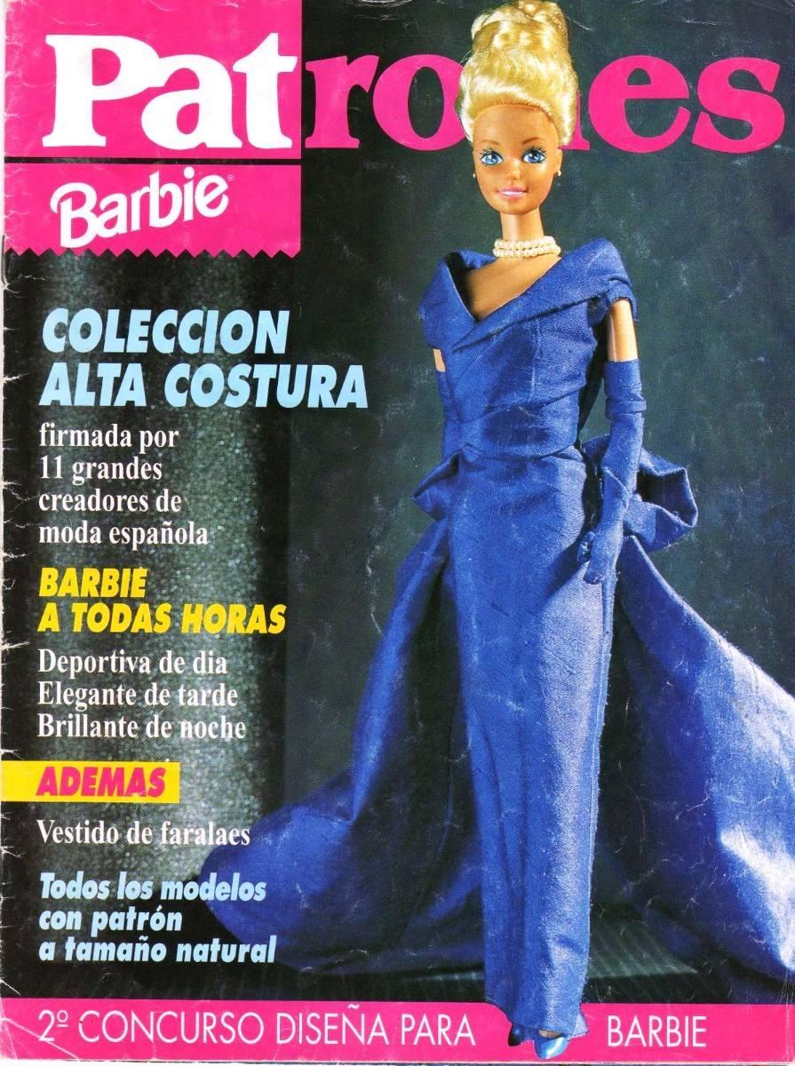Patrones Moldes Para Barbie Mas De 500 Patrones Imprimibles - $ 149 ...