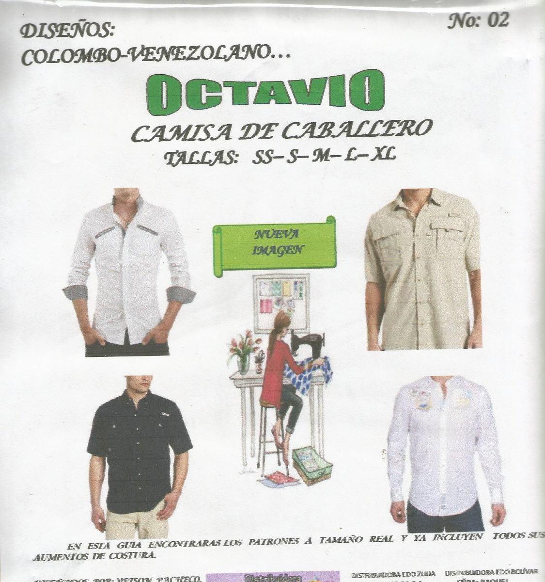 Patrones Octavio Camisa De Caballero #2