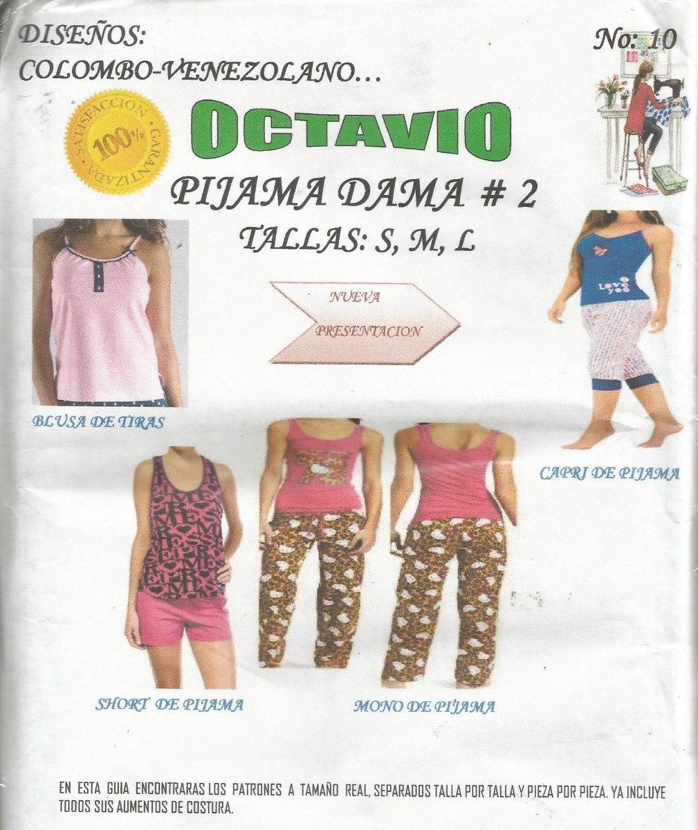 Patrones Octavio Pijamas #10 - Bs. 350,05 en Mercado Libre