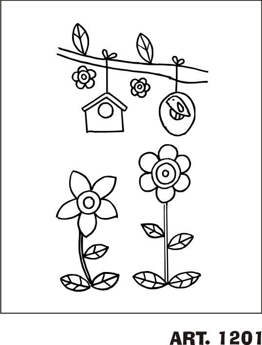 Patrones Para Bordar Diseños Infantiles En Tela Panama - $ 99,00 en ...