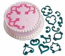 patrones para imprimir/decorar tortas/pasteles marca wilton