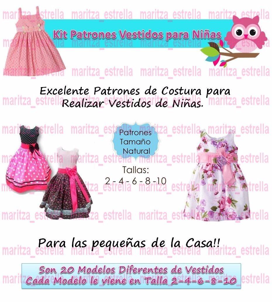 Patrones Para Vestidos De Niña - $ 500 en Mercado Libre