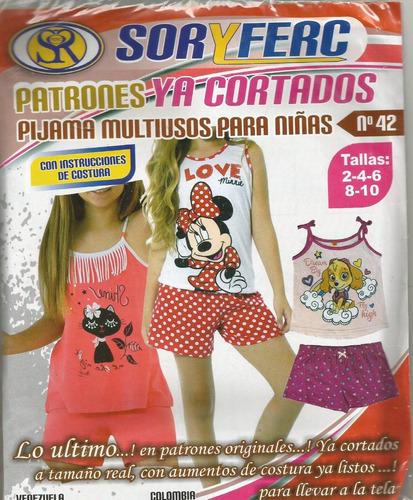patrones pijama multiusos niñas ya cortados