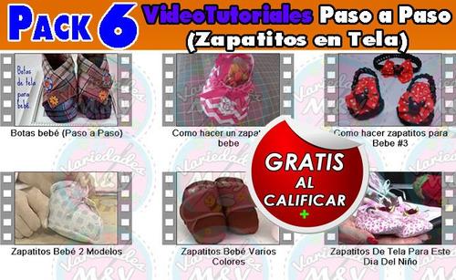 patrones revistas zapaticos para bebé zapatillas tela y más